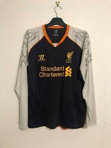 Liverpool Away Third Football Shirt 2012/13 Large L L/S Long Sleeve LS