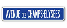 AVENUE DES CHAMPS-ELYSEES Street Sign tour de France french Europe Paris gift