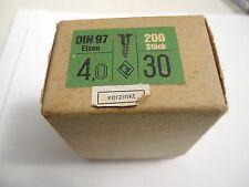 169 Stück 1 Box Antike Schrauben Biene Stahl Schlitzschrauben Länge 30mm
