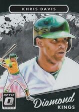 2017 DONRUSS OPTIC KHRIS DAVIS OF OAKLAND A'S #20 DIAMOND KINGS SP