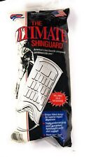 The Ultimate Shinguard Soccer White Size Medium Fits Height 48� -60�