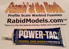 BEACON POWER-TAC GLUE 2.5oz tube - compare to E6000®* low odor,permanent,strong