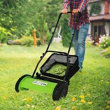 Koreyosh Cordless Lawn Mower Hand Push Mower Dual Wheeled 5-Blade Adjustable New