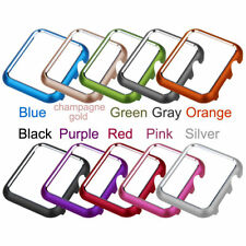 Aluminum Protective Screen Bumper Frame Case Cover fr Apple iWatch 38 40 42 44mm
