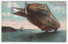 ZEPPELIN DIRIGIBLE Airship PC Postcard MILITARY Germany GERMAN Blimp RIGID