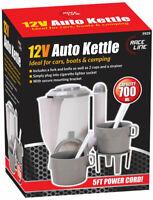 12V In Car Van Caravan Travel Kettle Cigarette Lighter Socket Camping Tea Coffee