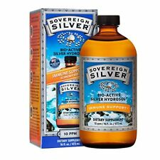 Sovereign Silver 16oz -  Bio-Active Silver Hydrosol for Immune Support. 10ppm