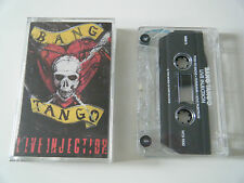 BANG TANGO LIVE INJECTION CASSETTE TAPE WORLD OF HURT RECORDS USA 1989