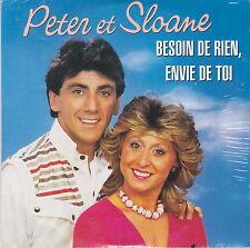 CD CARTONNE CARDSLEEVE COLLECTOR 10T PETER ET SLOANE BESOIN DE RIEN ENVIE DE TOI