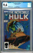 Incredible Hulk #331 (1987) CGC 9.6  White Pages  McFarlane - David - DeMulder
