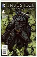 Injustice Gods Among Us Year Four #1 Matthew Clark 1:25 (1 in 25) Variant NM