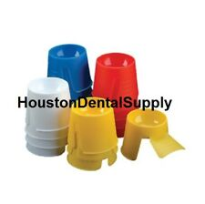 Dental Disposable Dappen Dishes 1000 Pcs Dappen Dish ASSORTED COLOR Mixing Wells