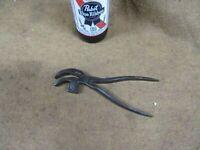 "Vtg R.Timmins,No.00 Cobbler Pliers,6-1/2"",Steel Hammer,Eng.~GD+😎😎😎#C11.18.20"