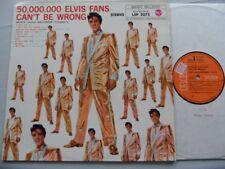 LP-Elvis Presley–50,000,000 Elvis Fans Can't Be Wrong(Elvis' Gold Records Vol.2