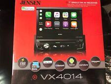 "Jensen VX4014 Motorized 7"" Touchscreen DVD Receiver w/ Apple Car Play BRAND NEW"