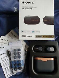 Sony WF-1000XM3 Noise-Cancelling True Wireless Bluetooth 5.0 Kopfhörer - Schwarz