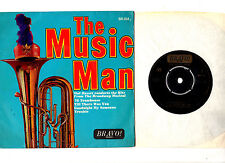 """MAL HASSET ORCH.THE MUSIC MAN.UK ORIG 7"""" EP & PIC/SL.EX"""