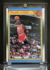 1988 Fleer All Star Sticker #120 Michael Jordan Hot 🔥 Mint Bulls Grading Ready