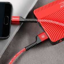 Metal Nylon Braided Galaxy Note8, S8, S8+ Type C USB Data Syn Cord Cable Charger