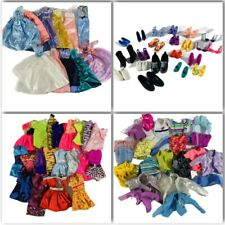 Huge Lot Of Barbie Clothes 80's-90's Over 100 Pieces Vintage Shoes Purses Gowns