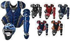 Wilson C1K Pro Stock Youth Intermediate Baseball Catcher's Gear Set Kit