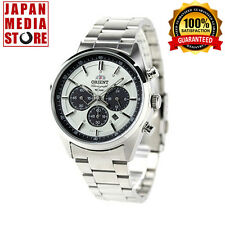 ORIENT Neo70's WV0041TX Solar Chronograph Elegant Watch 100% Genuine JAPAN