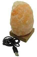 Energize Natural Air Purifier Ionized Himalayan Crystal Rock Salt Lamp Led USB
