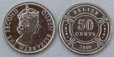 Belize 50 Cents 2010 p37 unz.