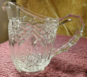 Creamer - Molded Glass  -  1960's - FREE POSTAGE**