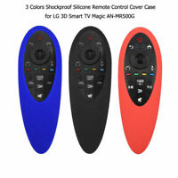 Shockproof Silicone Remote Control Cover Case for LG 3D Smart TV Magic AN-MR500G