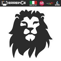 Sticker LEONE LION Adesivo Parete Decal Laptop Mural Camper PVC Casco Auto Moto