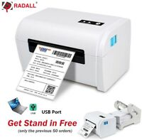 Shipping Postage Label Fast Print Thermal Printer Suit up to 100mm wide Labels