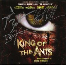 KING OF THE ANTS Daniel Baldwin / Stuart Gordon & Bobby Johnston SIGNED CD