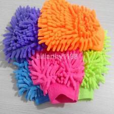 Microfiber Soft Mitt Car Beauty Tool Wash Mitten Washing Glove Cleaning Brush CA