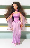 Vintage Disney Doll Megara Hercules Barbie Clothes Shoes Dress