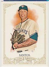 2012 Topps Allen and Ginter #322 Sergio Santos SP Toronto Blue Jays Card