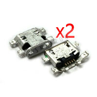 2X Lenovo IdeaTab A8-50 A5500-F Dock Connector Micro USB Charger Charging Port