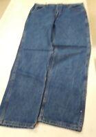 NWT Genuine Roebuck Stone-wash Blue Jeans Men's 36x30 New Straight Leg USA Made