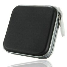 Black 40 Disc Holder Storage Bag Wallet Hard Case Cover For CD DVD Carry Sleeve