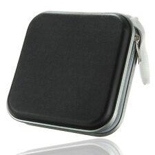 Black 40 Disc Holder Storage Bag Wallet Hard Case Cover For CD DVD Carry Sleeve