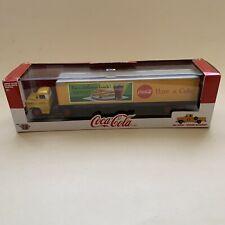 M2 Machines 1:64 Diecast Coca Cola Truck With Bonus Pickup Inside