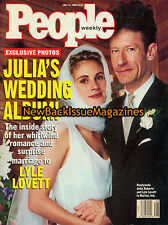 People 7/93,Julia Roberts Wedding Album, Lyle Lovett,July 1993,NEW
