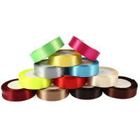 25 Yards Length DIY Satin Single-Faced Ribbon Colorful Wedding Party Craft Gift