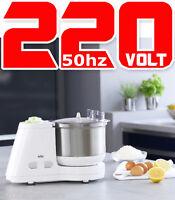Braun KM3050 220 Volt Food Processor Kitchen Machine Non-U.S for Europe Asia