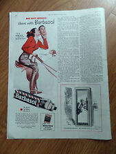 1949  Kodak Camera Ad  Happy Easter 1949 Barbasol Shaving Ad Horseback Riding