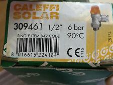 CALEFFI 309461 Valvola di sicurezza combinata temperatura e pressione 6 bar