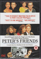 Peter's  Friends  -  Stephen Fry Kenneth Branagh Hugh Laurie New & Sealed R2 DVD