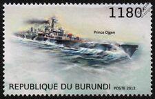 PRINZ EUGEN (Prince Ojgen/Eugene) WWII German Heavy Cruiser Warship Ship Stamp