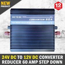 24V DC TO 12V DC Automobile Converter Reducer 60 AMP Step Dow