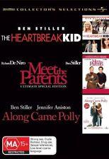 The Heartbreak Kid / Meet the Parents / Along Came Polly (DVD, 2008, 3-Disc Set)